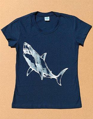 Camiseta Ecológica Tubarão - Van Ray