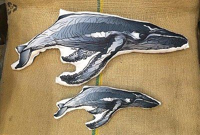 Almofada Ecológica Baleia Jubarte - Van Ray