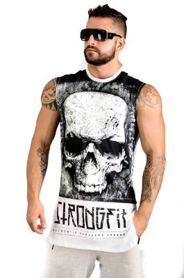 REGATA LONG SKULL BRANCO