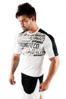 CAMISETA LONG APPAREL BRANCO