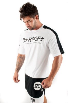 CAMISETA LONG TOKIO BRANCO
