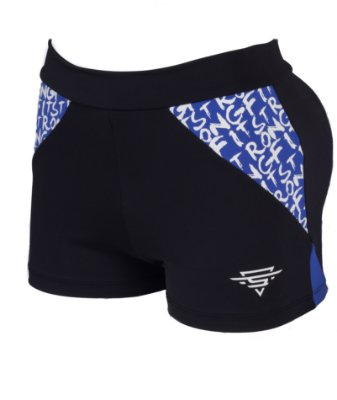 SHORT SF BLACK & BLUE