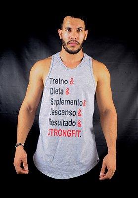REGATA TRADICIONAL SEGREDO CINZA
