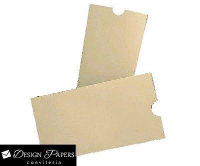 Mini Envelope Begê - Luva 7x10cm - 25 unidades