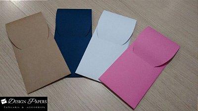 Envelope Bolso - 12x26cm - 25 unidades *Cores a escolher*