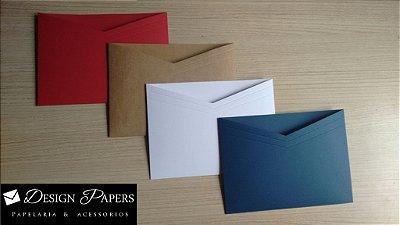 Envelope Decote - 16x22cm - 25 unidades *Cores a escolher*