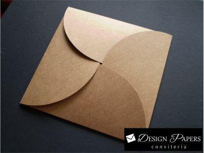 Envelope Kraft 200g - Cata Vento 15x15cm - 25 unidades