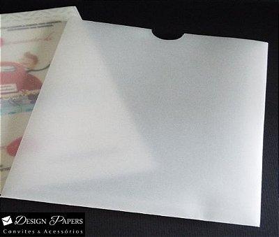 Envelope Vegetal 230g - Luva 21,5x21,5cm - 10 unidades
