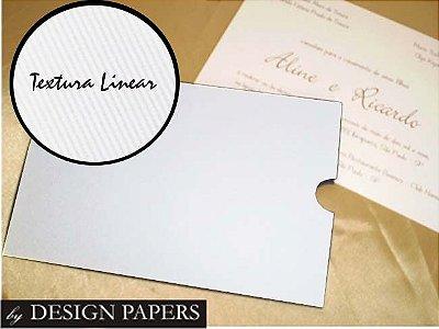 Envelope Luva 15x21cm - Branco Liso 180g - 10 unidades