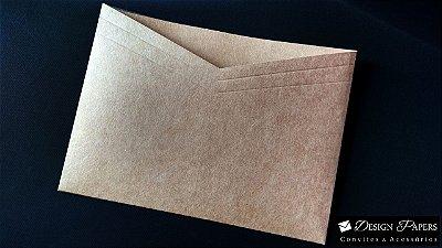 Envelope Kraft 200g - Decote 16x22cm - Pacote com 10 unidades * ITEM A PRODUZIR