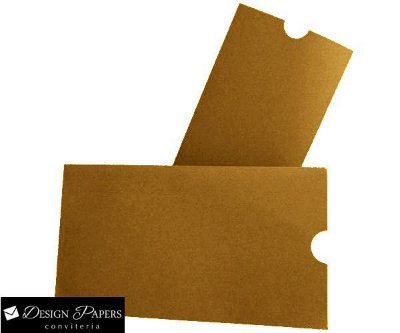 Envelope Kraft 200g - Luva Pequeno 8x15 cm - Pacote com 10 unidades