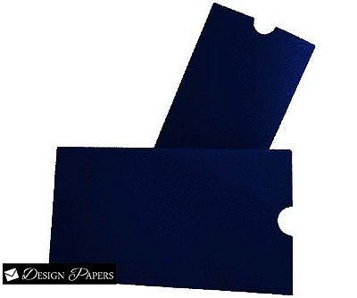 Envelope - Luva 15,2x21,2cm - Azul Escuro 180g - 150 unidades *Item a produzir