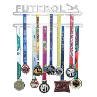 Porta Medalhas Futebol Feminino