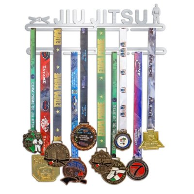 Porta Medalhas Jiu Jitsu Faixa Masculino
