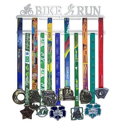 Porta Medalhas Duatlo Feminino - Bike Run