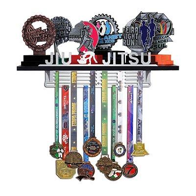 Porta Troféus e Medalhas Jiu Jitsu Feminino