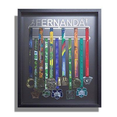 Quadro de Medalhas Personalizado Com o Nome