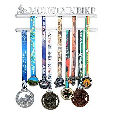 Porta Medalhas de Mountain Bike Feminino