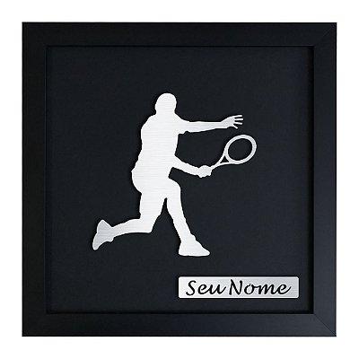 Quadro Decorativo de Tênis Masculino Personalizado
