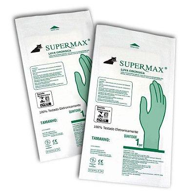 Luva Cirúrgica Estéril Supermax