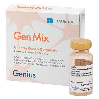 Enxerto Ósseo Bovino Gen Mix 1,5 Baumer