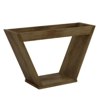base de mesa de jantar retangular para 6 lugares design moderno altura 78 cm largura 110 cm cor marrom freijó