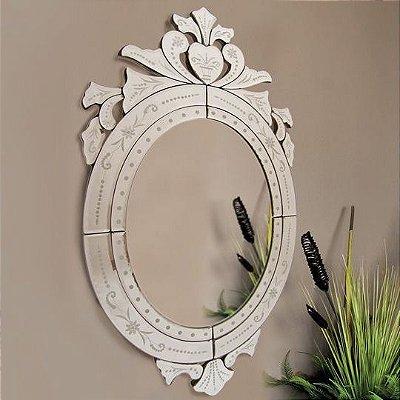 Espelho Veneziano 90 cm Sparta