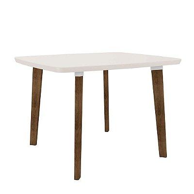 mesa de jantar ou cozinha 4 lugares pé palito altura 78 cm tamanho 120 x 90 cm retangular