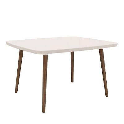mesa de jantar ou cozinha 4 lugares altura 78 cm tamanho 120 x 90 cm retangular pé palito