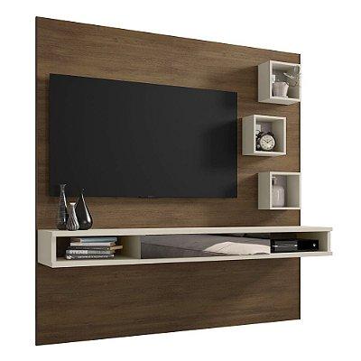 Painel De Tv Para Quarto Ou Sala Tv Até 42 Polegadas Altura 180 cm Largura 183 cm