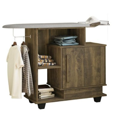 tabua de passar roupa com gabinete armario multiuso para lavanderia com porta
