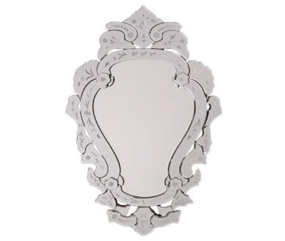 Espelho Veneziano Veneza M com 87 x 54 cm