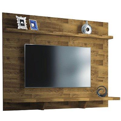 Painel para TV de Madeira com 2 Nichos