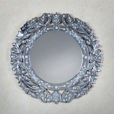 Espelho Veneziano Redondo - Mandala