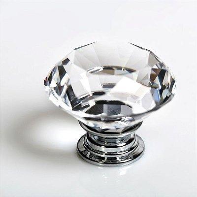 Puxador de Cristal Para Quarto do Bebê