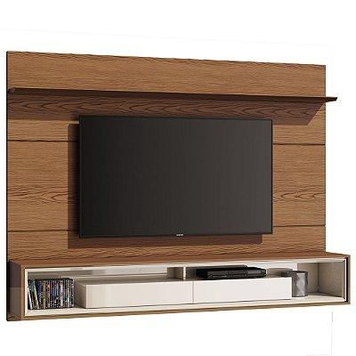 painel para tv sala de estar 182 cm com gavetas