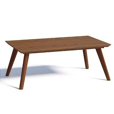 mesa de centro com pé palito 91 x 53 cm