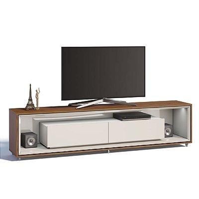 rack para sala de estar com gaveta 220 cm