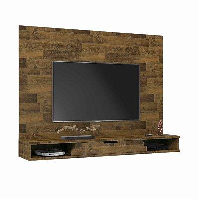 Painel para TV de madeira para Sala de Estar - Los Angeles