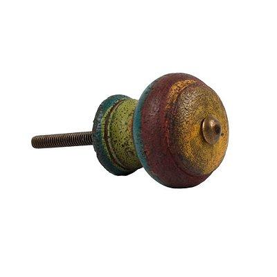 Puxador Decorativo de Madeira Redondo 40 mm - 001706