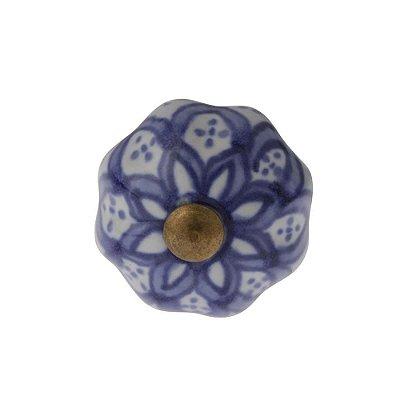 Puxador Decorativo de Cerâmica Redondo 30 mm - 001698