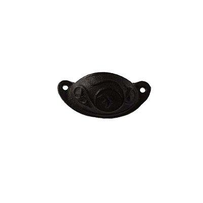 Puxador De Gaveta Decorativo  Comprimento 9 cm  - 003018