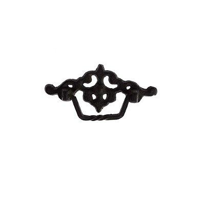 Puxador De Gaveta Decorativo  Comprimento 12 cm  - 003019