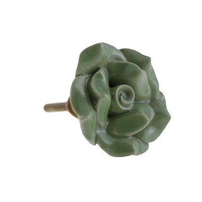 Puxador De Gaveta Decorativo Redondo Comprimento 5 cm Diâmetro 5 cm - 003104