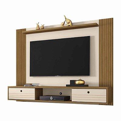 Painel para TV até 60 Polegadas Largura 180 cm Suspenso de Parede