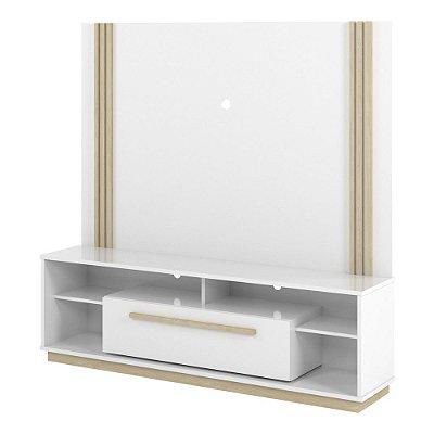 Rack Com Painel Home Para Tv 60 Polegadas Largura 180 Cm Altura 176 Cm