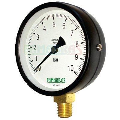 Manômetro Industrial FS 52/62/80 - Famabras