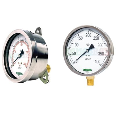 Manômetro Industrial FSI 100/114/160 - Famabras