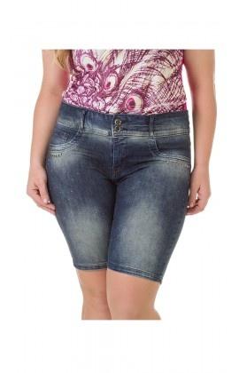 Bermuda Jeans com Lavação Média - 31551