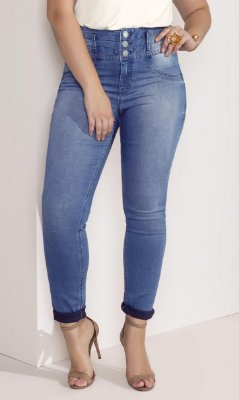 Calça Jeans Skinny Lunender - 44455